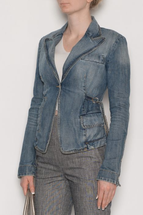 another chance 57b0e 76dee FORNARINA Denim Jacket S